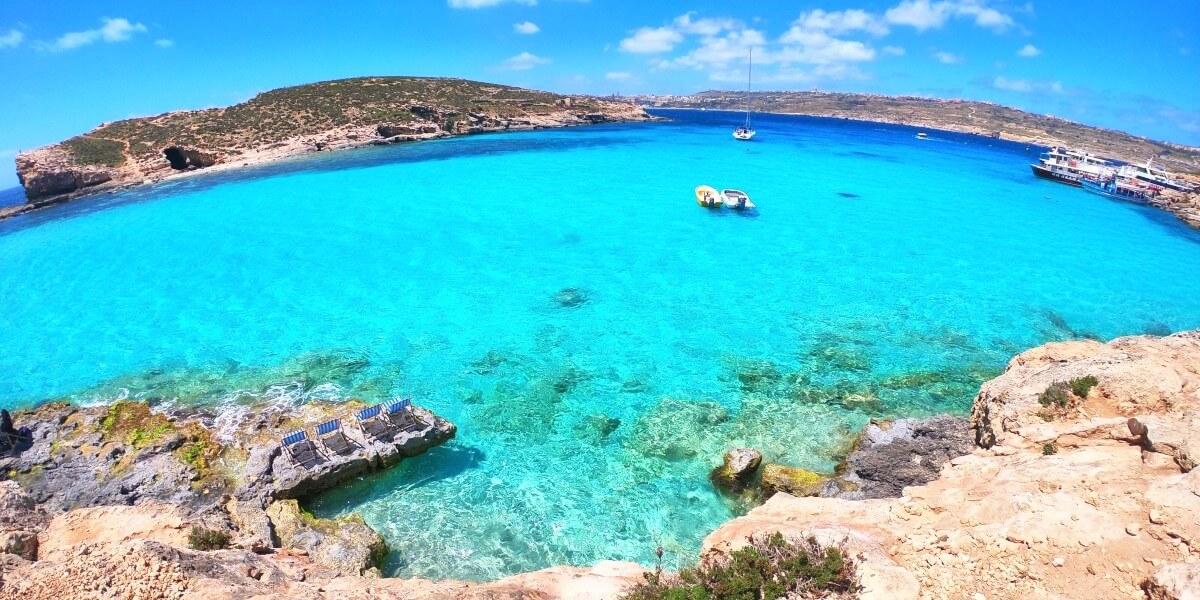 Laguna Azul de Malta
