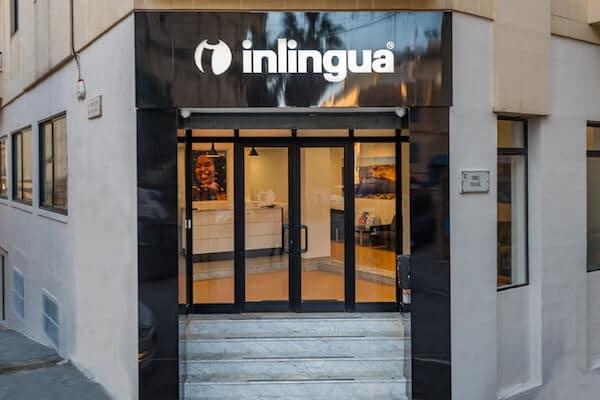 Façade extérieure de l'école Inlingua