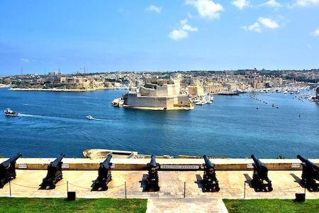 Valeta Saluting Battery Malta