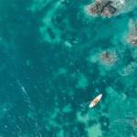 Mer de Malte depuis le ciel