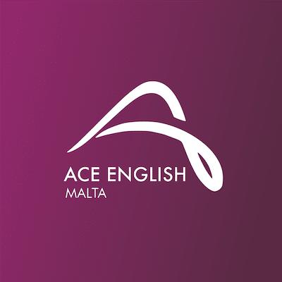 Logo della scuola di lingua inglese ACE a Malta