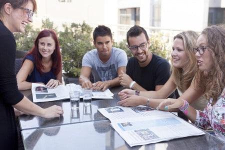 Studenti nei corsi di inglese economici a Malta