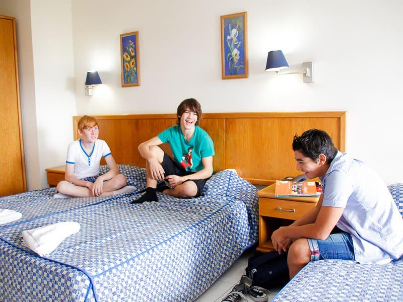 Camera per adolescenti nel campo estivo di Maltalingua