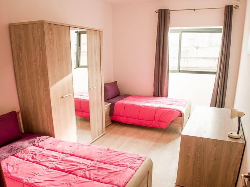 Camera condivisa in un appartamento di Maltalingua